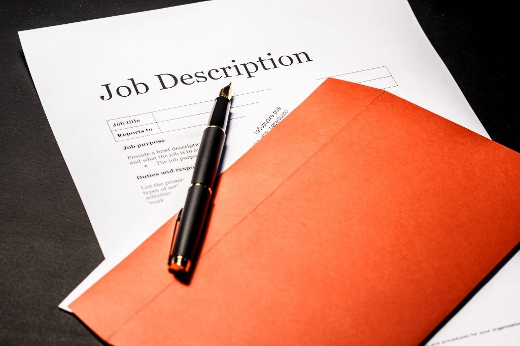 Writing Effective Job Descriptions - This will be a webinar